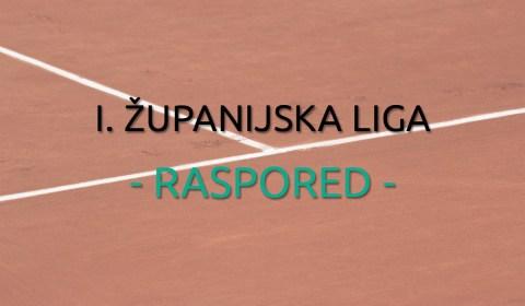 I. Županijska Liga 2017. - Raspored