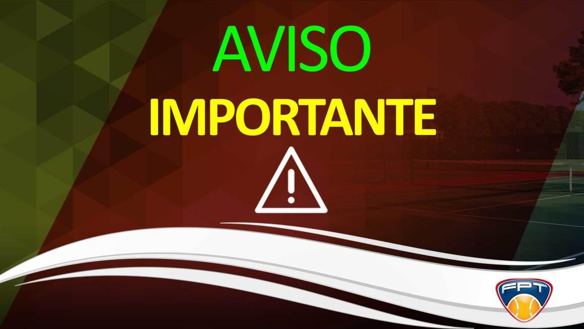 AVISO – REVISÃO NA PROGRAMAÇÃO DO TORNEIO DO INDIANO (101)