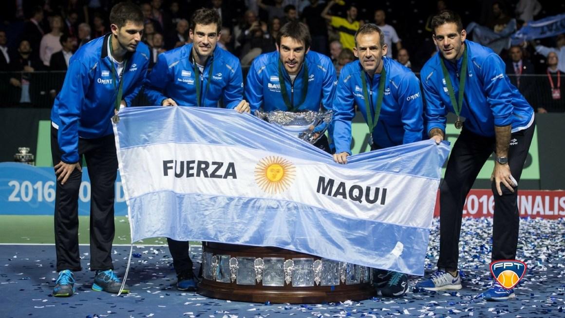 Delpo e Argentina: redenção na Copa Davis