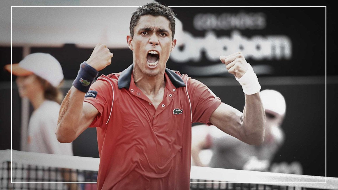 Thiago Monteiro o novo protagonista do tênis brasileiro