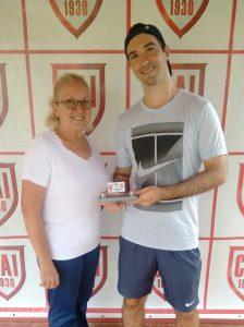 Indiano Open - Cat. 35MA Vice-campeão Heitor Carvalhana Madeira