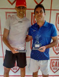 Indiano Open - Cat. 45MB Campeão Sergio Eduardo Starnini e Vice-campeão Antonio Luis Tiziotto