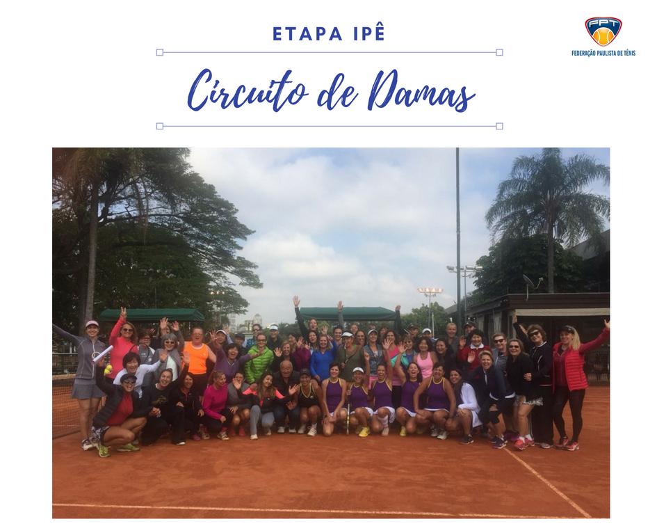 IPÊ CLUBE RECEBE ETAPA DO CIRCUITO DE DAMAS