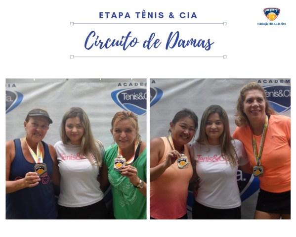 CIRCUITO DE DAMAS - TÊNIS & CIA