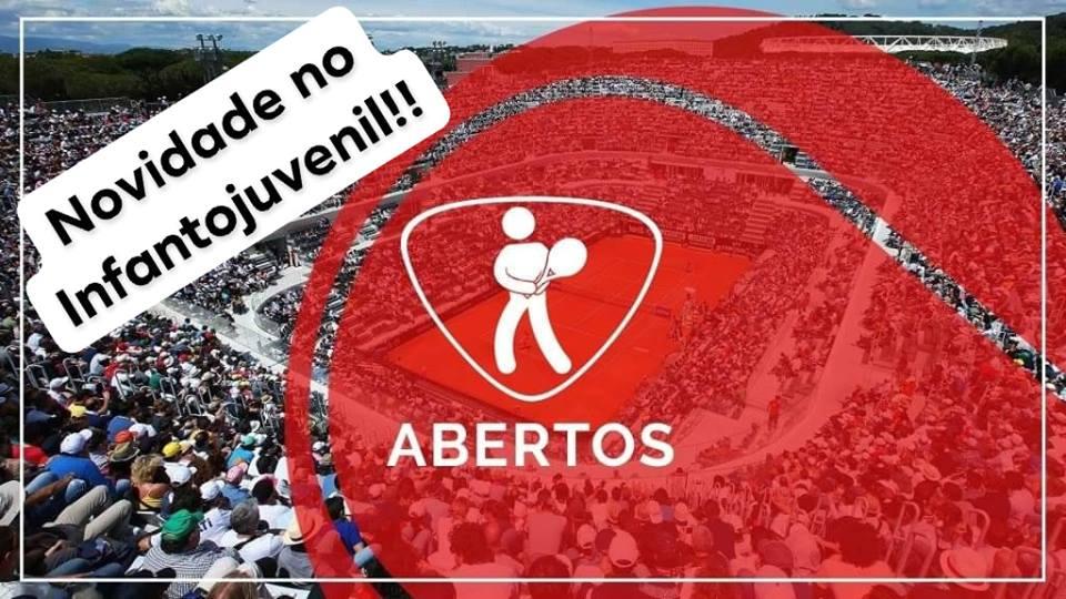TORNEIOS ABERTOS SUPERVISIONADOS INFANTOJUVENIL POSSUEM NOVO FORMATO DE DISPUTA EM 2019