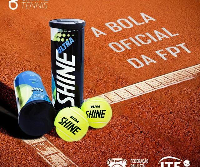 NOVA PARCERIA COM A SHINE TENNIS – BOLA OFICIAL DA FPT 2019