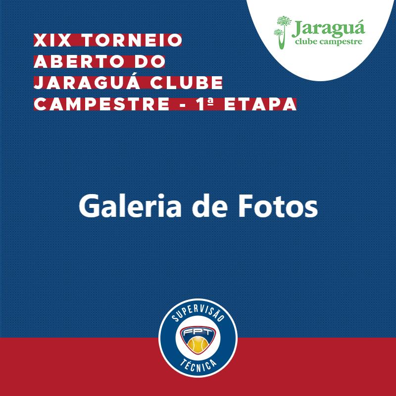 GALERIA DE FOTOS | XIX TORNEIO ABERTO DO JARAGUÁ CLUBE CAMPESTRE – 1ª ETAPA