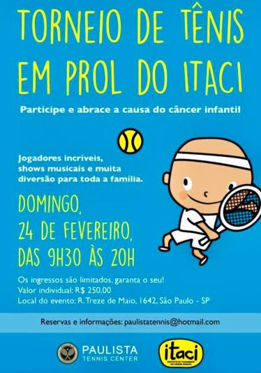 TORNEIO DE TÊNIS EM PROL DO ITACI