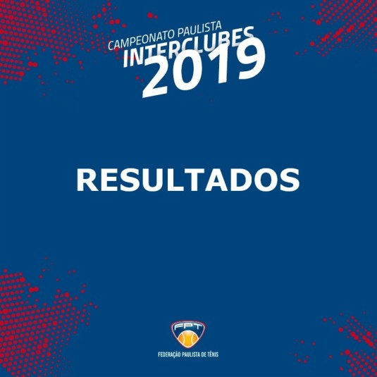 RESULTADOS INTERCLUBES 2019 – 16F