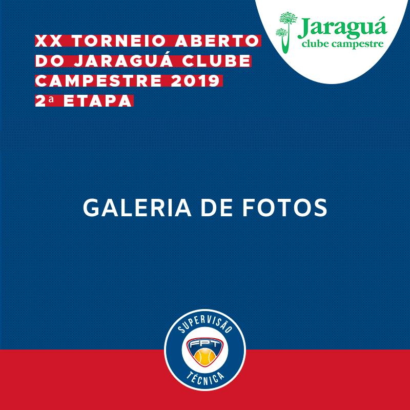 GALERIA DE FOTOS   XX TORNEIO ABERTO DO JARAGUÁ CLUBE CAMPESTRE 2019