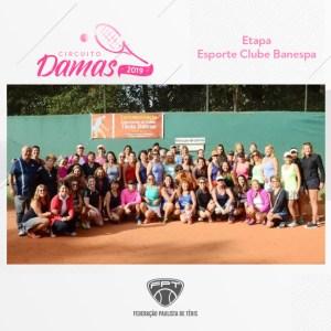 CIRCUITO DAMAS 2019 – ETAPA ESPORTE CLUBE BANESPA