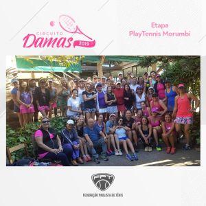 CIRCUITO DAMAS 2019 – ETAPA PLAYTENNIS MORUMBI