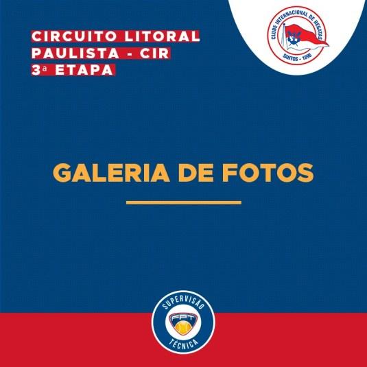GALERIA DE FOTOS – CIRCUITO LITORAL PAULISTA – CIR – 3ª ETAPA