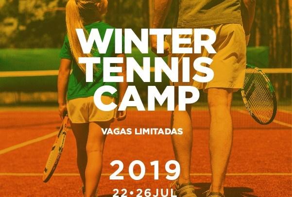 WINTER TENNIS CAMP – 22 A 26 DE JULHO DE 2019