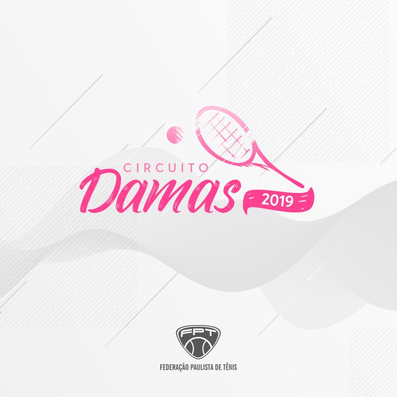CIRCUITO DAMAS – CALENDÁRIO DO 2º SEMESTRE 2019
