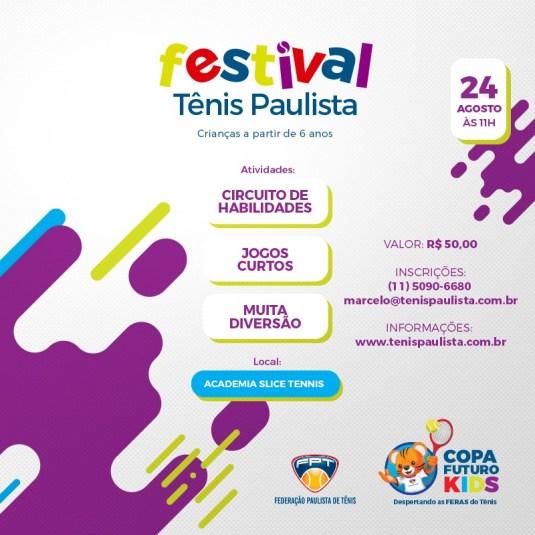FESTIVAL TÊNIS PAULISTA KIDS