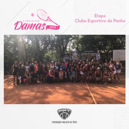 CIRCUITO DAMAS 2019 – ETAPA CLUBE ESPORTIVO DA PENHA