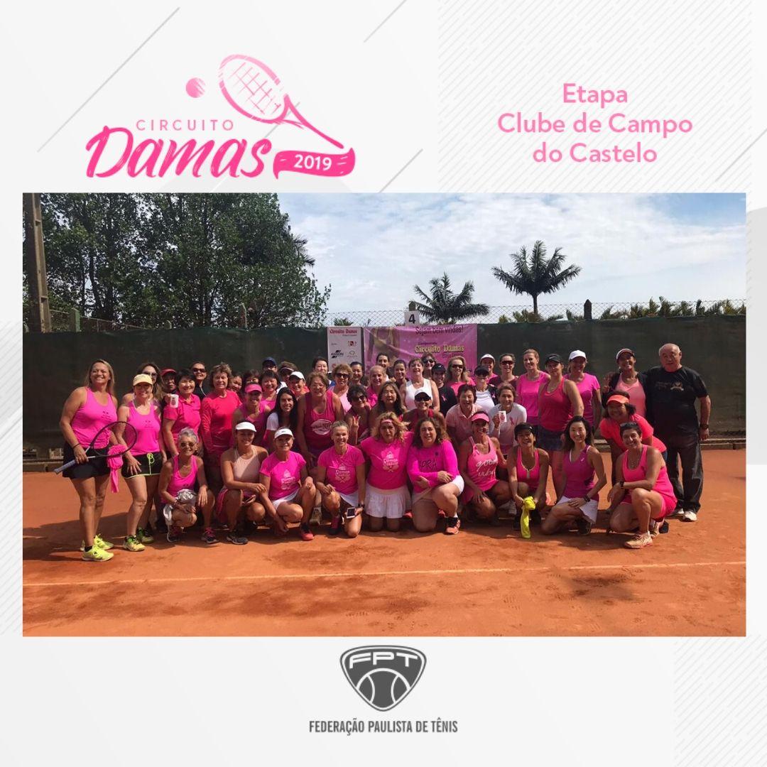 CIRCUITO DAMAS 2019 – ETAPA CLUBE DE CAMPO DO CASTELO