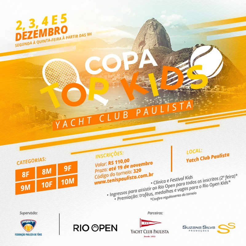 COPA TOP KIDS – YACHT CLUB PAULISTA
