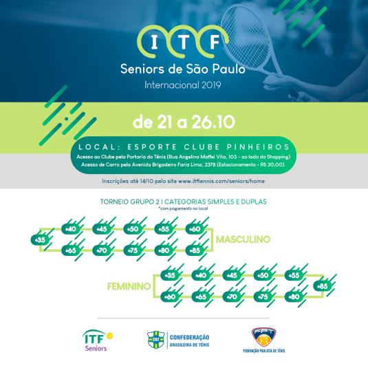 ITF SENIORS DE SÃO PAULO 2019