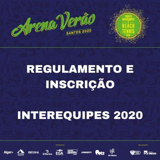 TROFÉU INTEREQUIPES DE BEACH TENNIS 2020 – REGULAMENTO E INSCRIÇÃO