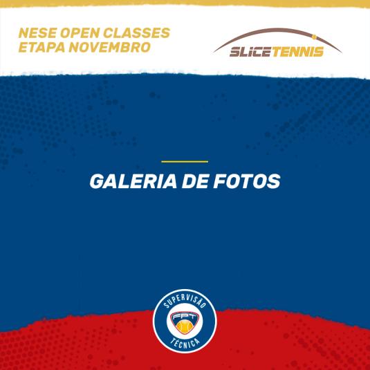 NESE OPEN CLASSES – ETAPA NOVEMBRO – GALERIA DE FOTOS E QUADRO DE HONRA