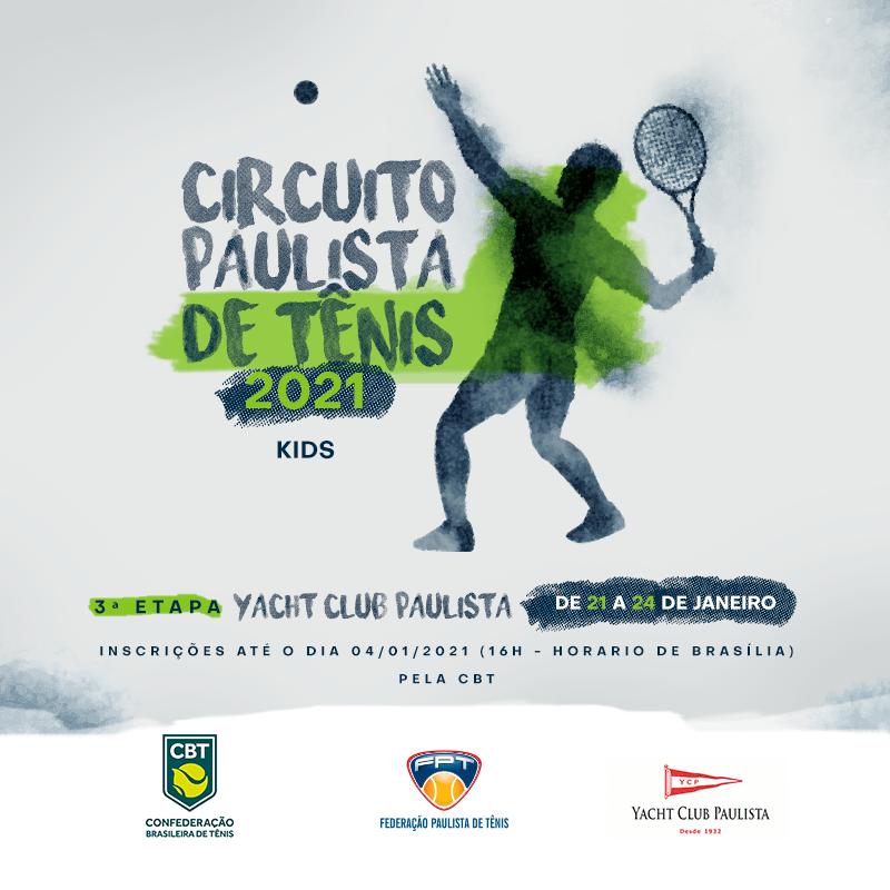 CIRCUITO PAULISTA KIDS 2021 – 3° ETAPA YACHT CLUB PAULISTA