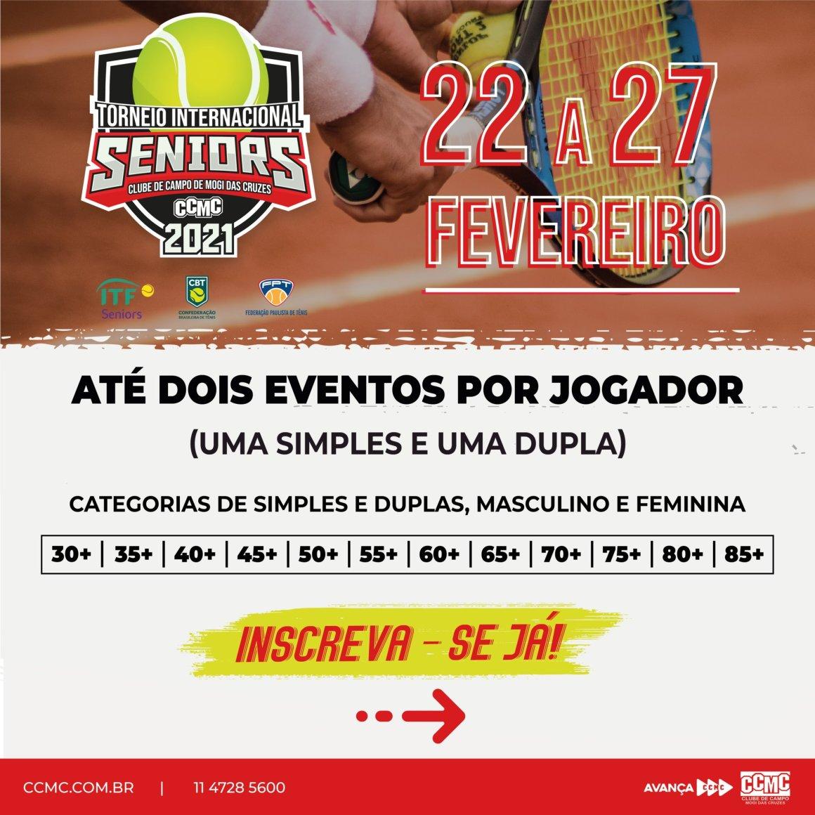 ITF SENIORS – CLUBE DE CAMPO DE MOGI DAS CRUZES