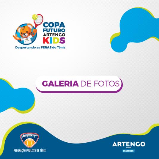 Copa Futuro Artengo Kids – Yacht Club Paulista – Quadro de Honras