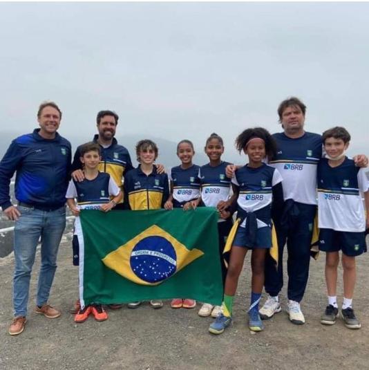 Com tenista da FPT, Brasil é campeão do Sul-Americano 12 anos Feminino e medalha de Bronze no Masculino
