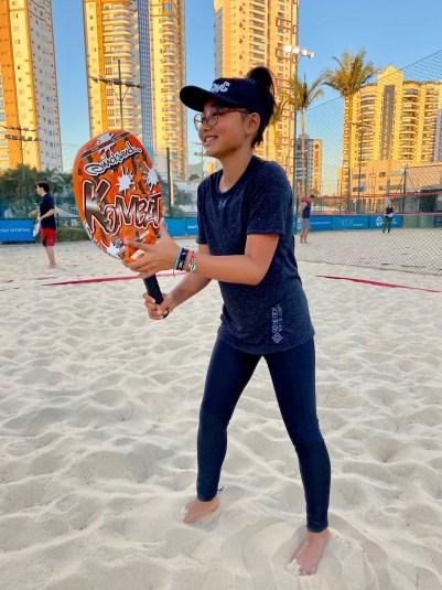Atleta do CCMC é convocada para os Jogos Pan-Americanos de Beach Tennis