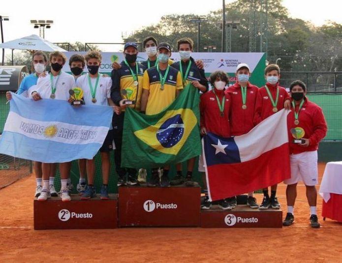 Com dois paulistas na equipe, Brasil é campeão do Sul-Americano 16 anos