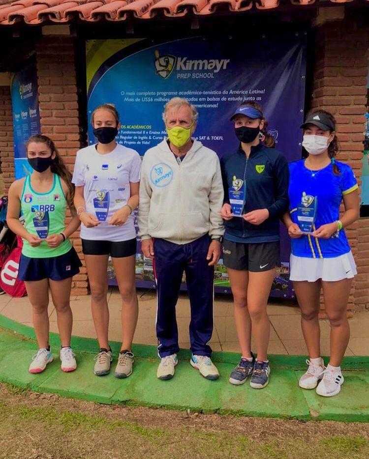 Paulistas são campeões e finalistas do ITF J5 de Serra Negra, confira:
