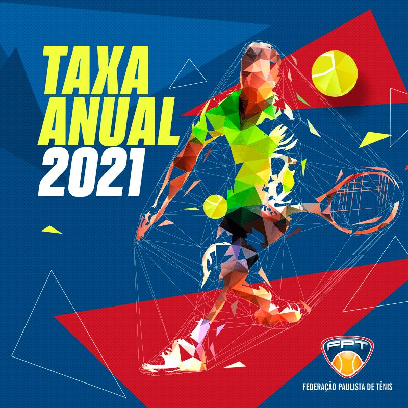 TAXA ANUAL 2021 – Promoção mês de setembro