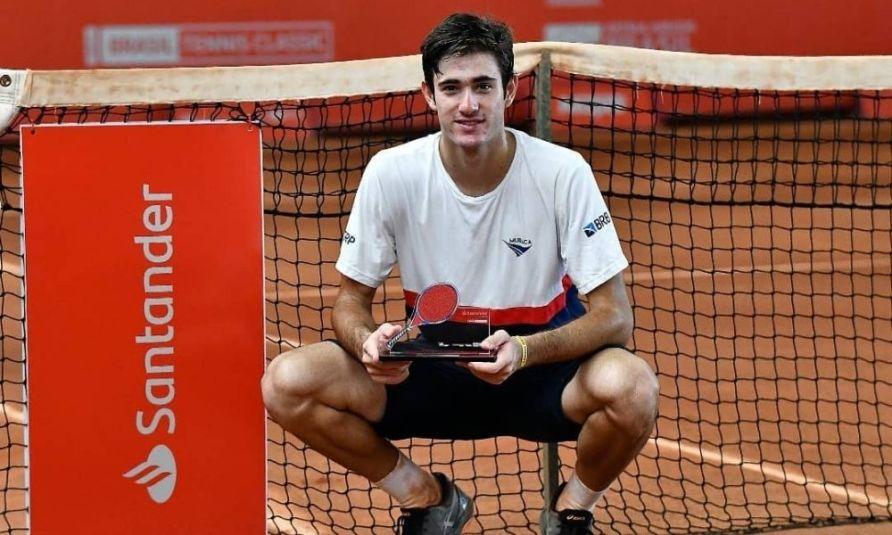 Gustavo Heide fatura o título do ITF de Recife
