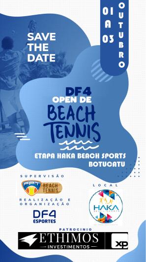 Circuito DF4 – Etapa Haka Beach Sports – Botucatu – Informações Técnicas