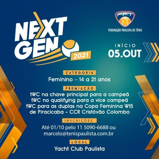 Torneio Feminino Next Gen FPT