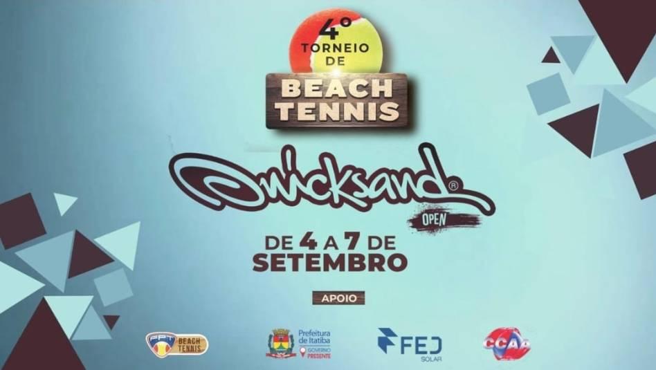 4o Quicksand Open Fernando Fernandes Beach Tennis – Informações Técnicas