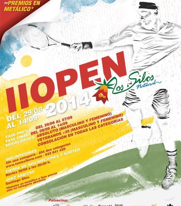 II OPEN LOS SILOS NATURAL 2014