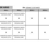 Finales Campeonato Júnior de Tenerife