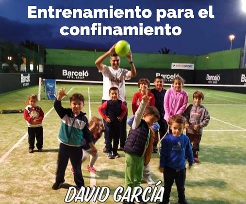 Entrenamiento para el Confinamiento, nivel mini tenis