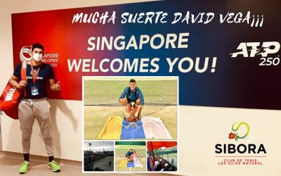 DAVID VEGA RUMBO AL ATP 250 DE SINGAPORE