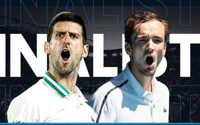 PARTIDAZO A LA VISTA; FINAL OPEN AUSTRALIA. Djokovic – Medvedev; horario y dónde ver en TV la final masculina del Open de Australia