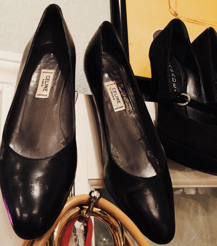 Vintage Celine Pumps black