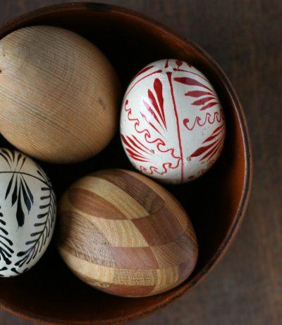 mediniai kiaušiniai