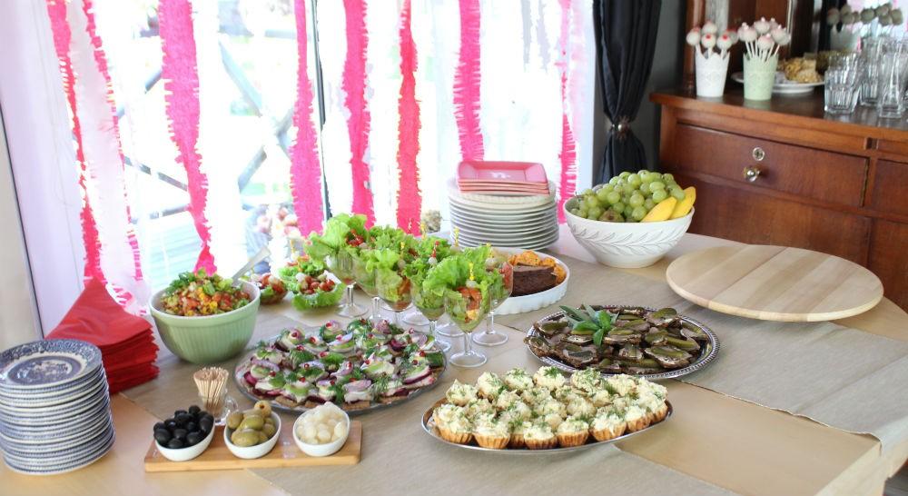 gimtadienio maistas