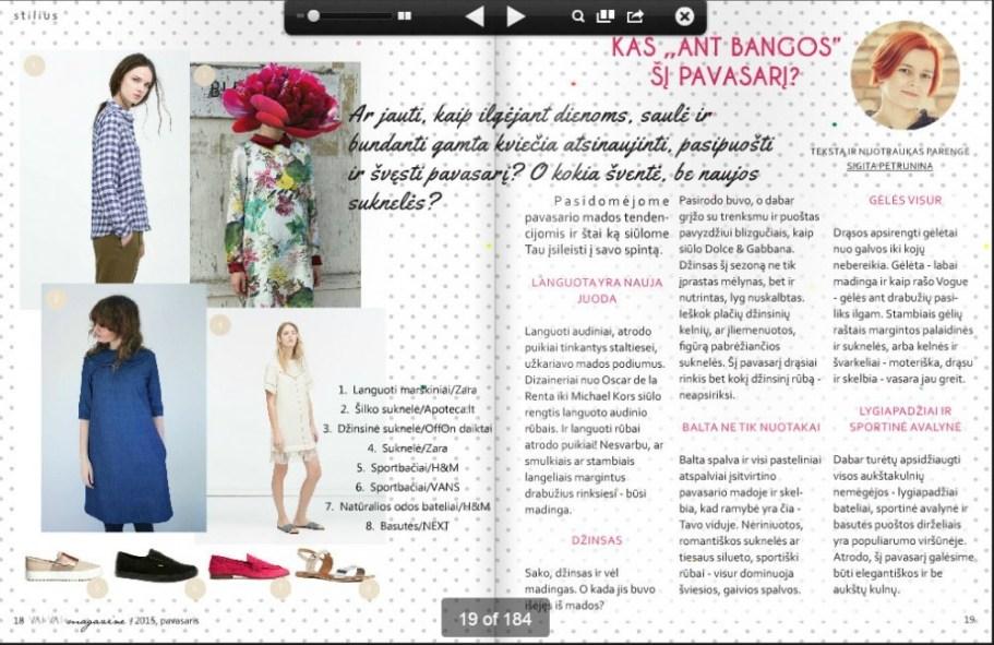 VAI VAI Magazine-pavasaris1