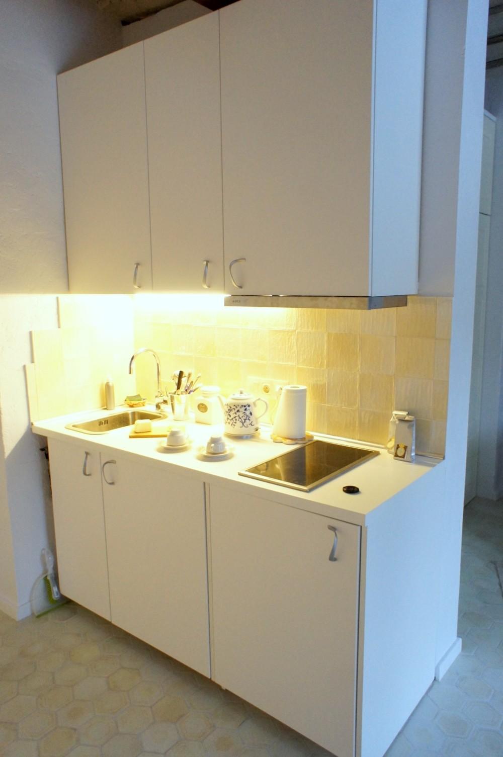 minimalistinė virtuvė