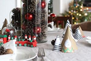 kalėdų stalo dekoracijos, kaip papuošti kalėdų stalą
