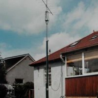 3 section mast